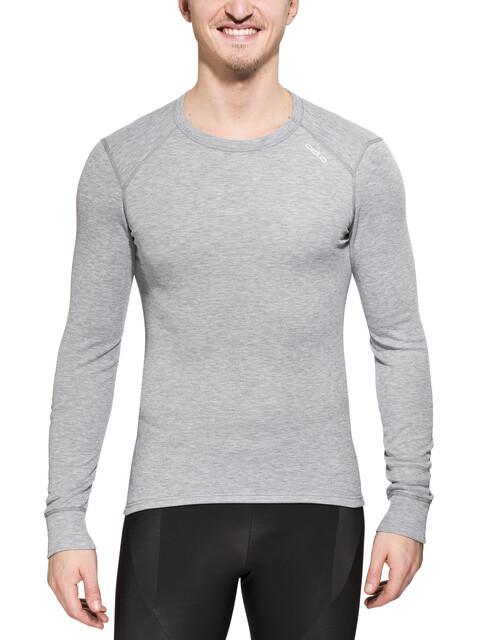Odlo WARM miesten keinokuituinen aluspaita, harmaa